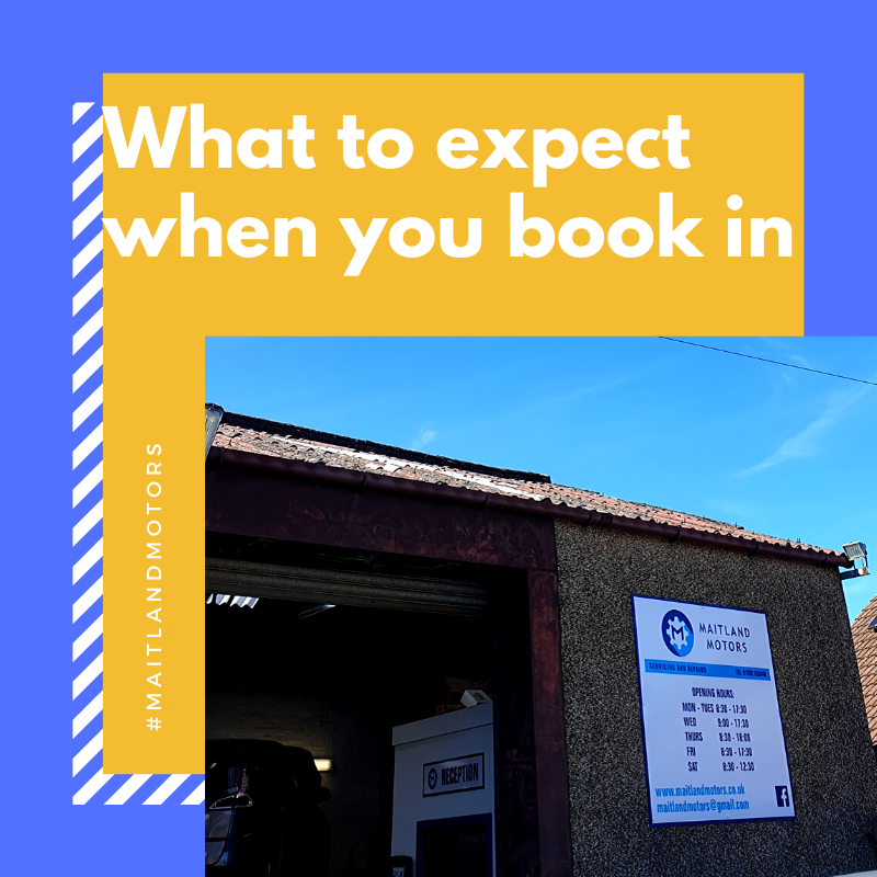 What to expect when you book your car in Maitland Motors