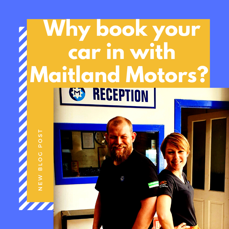 Why Book Your Car In With Maitland Motors?