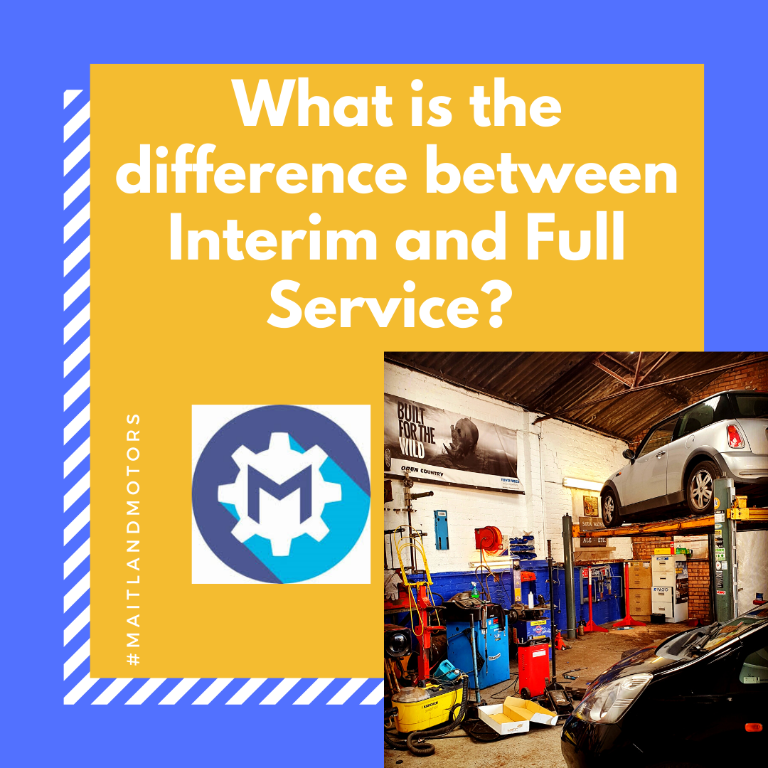 What is the difference between an Interim and Full Service?