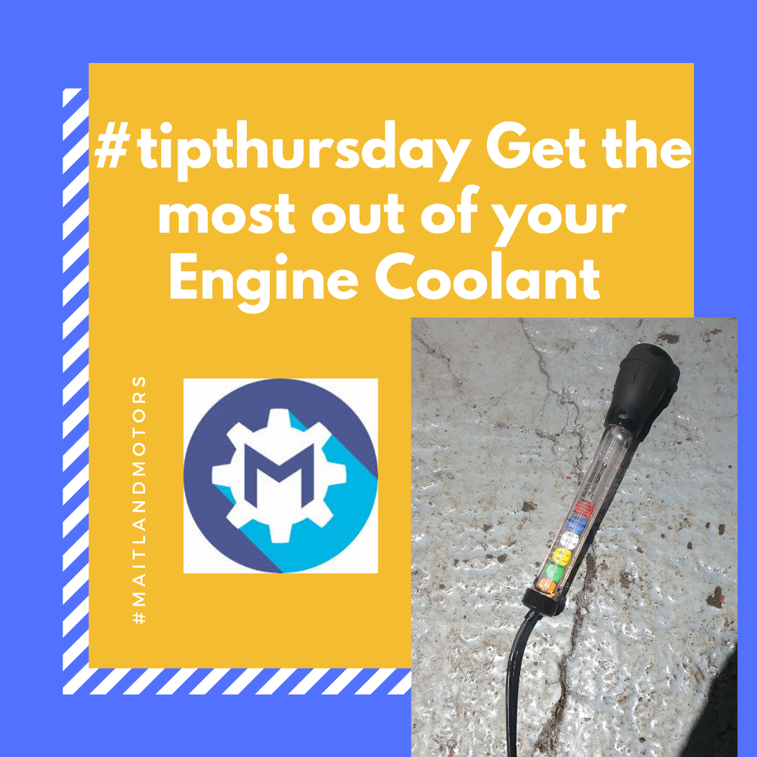 #tipthursday Get the most out of your Engine Coolant