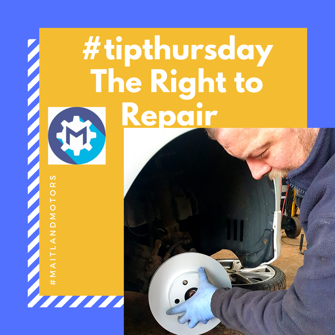 #tipthursday The Right to Repair