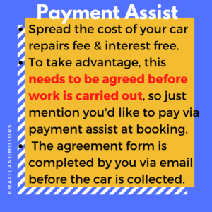Payment Assist with Maitland Motors