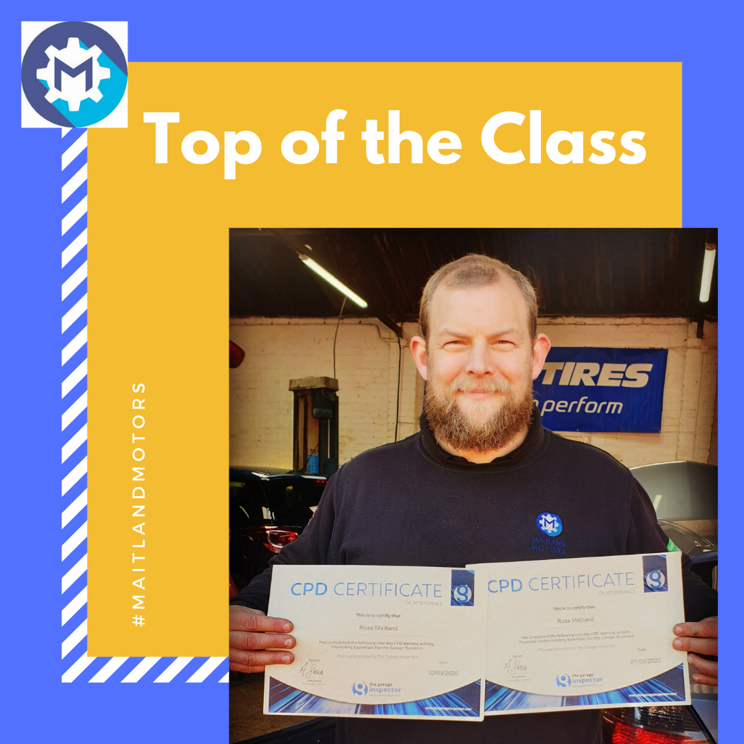 Top of the Class for Maitland Motors