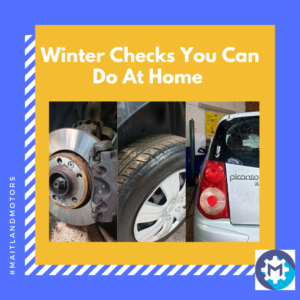 Winter Checks from Maitland Motors