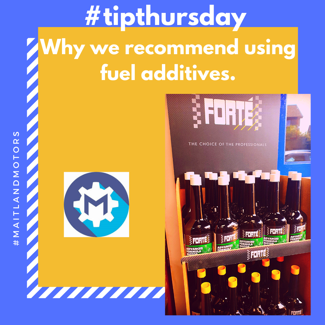 #tipthursday Why we recommend using fuel additives