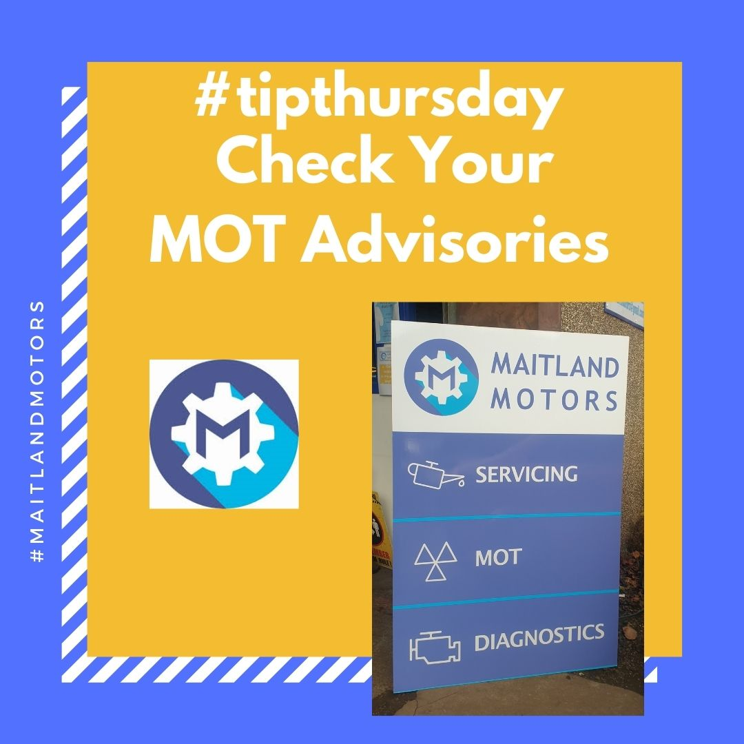 #tipthursday Check your Advisories