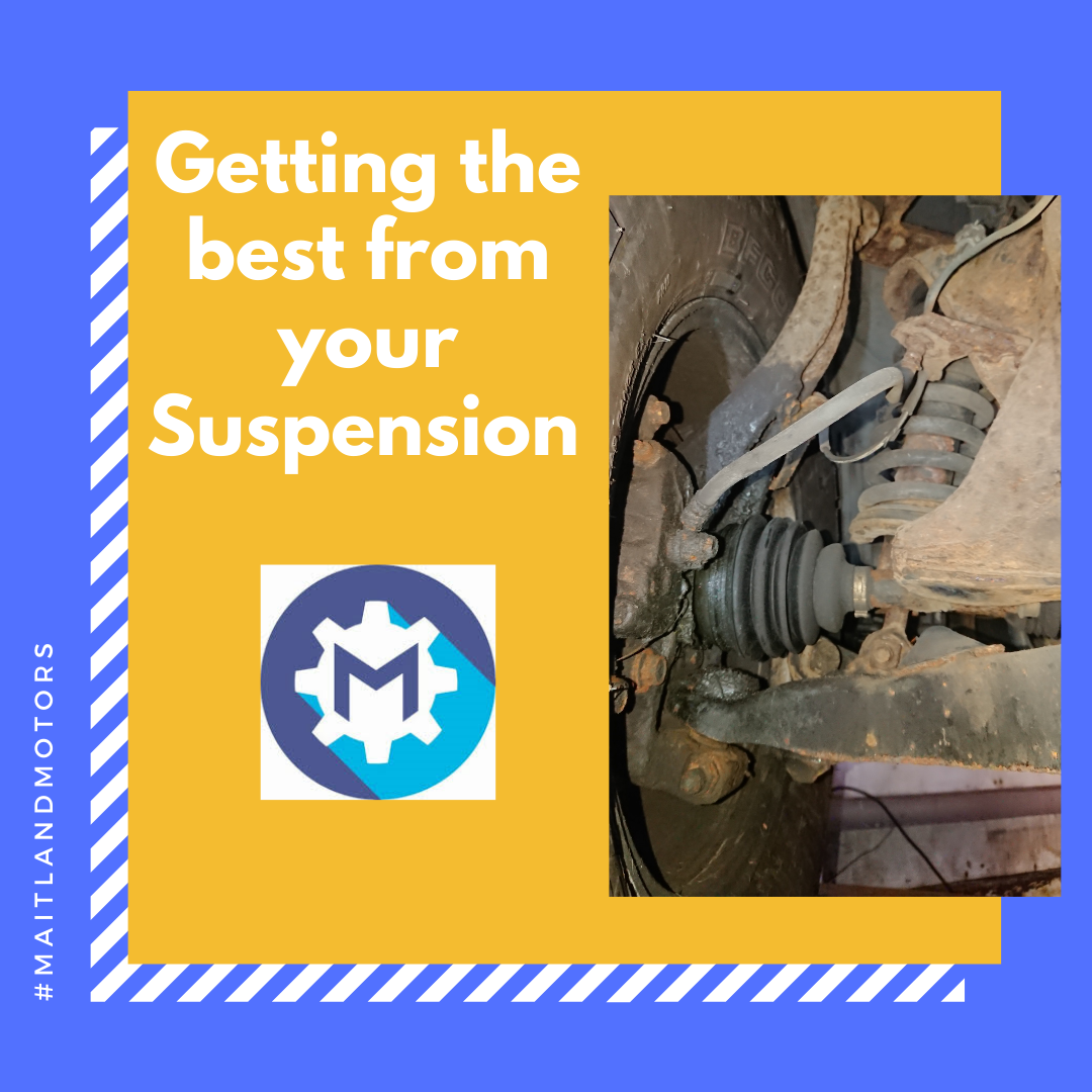 Getting the best from your Suspension