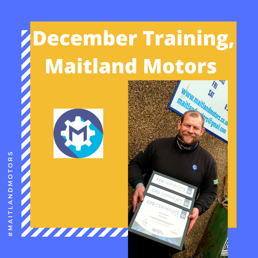 December Training for Maitland Motors