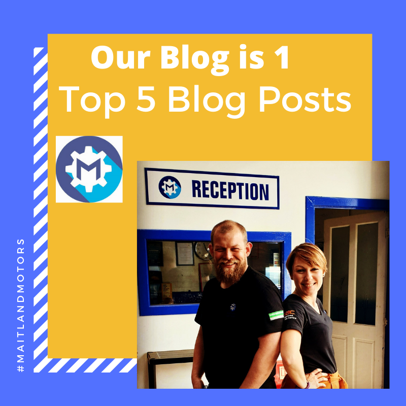 Maitland Motor's Top 5 Blog Posts