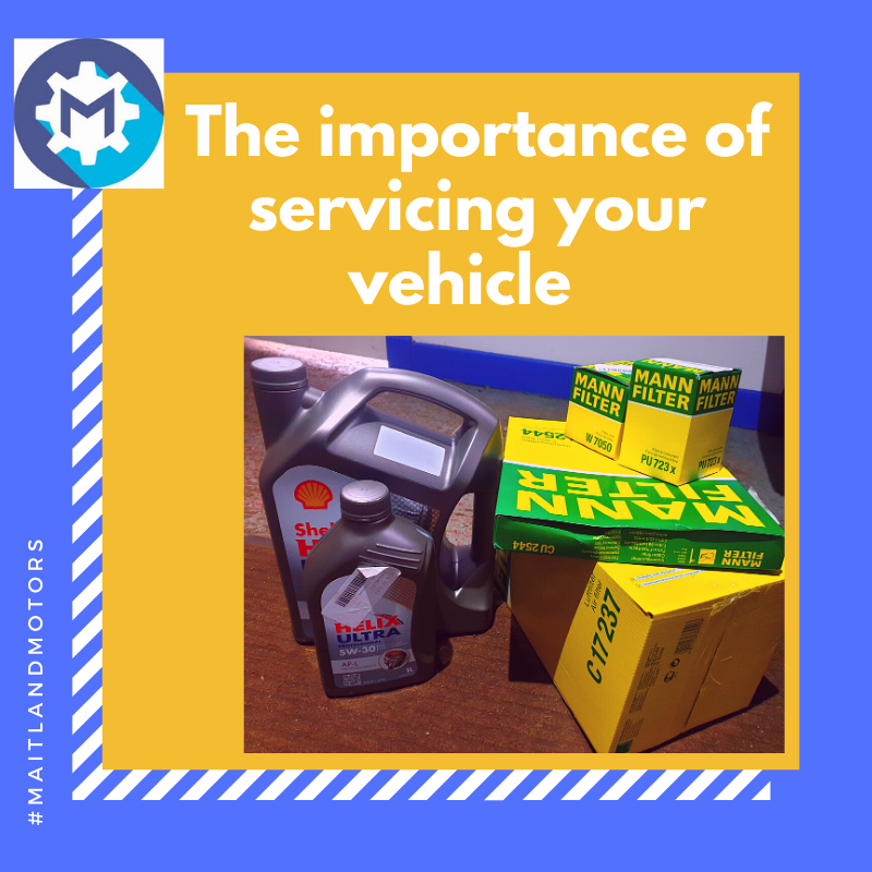 The importance of servicing your vehicle