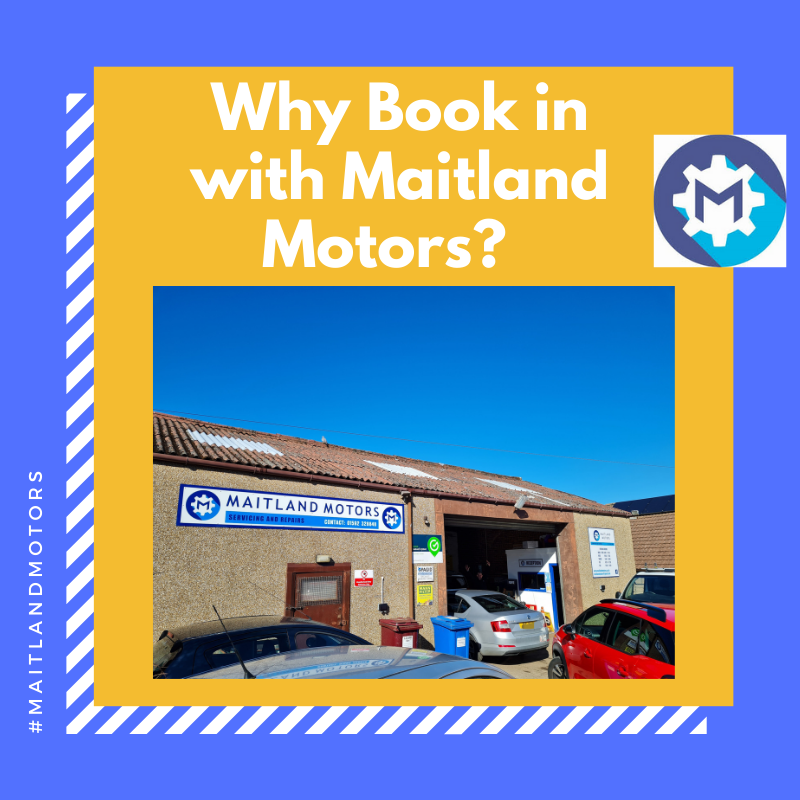 Why book in with Maitland Motors?