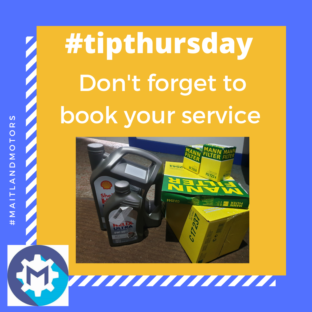 #tipthursday Don't forget to book your service