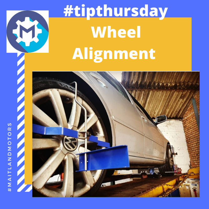 #tipthursday What is wheel alignment and should I get it done?