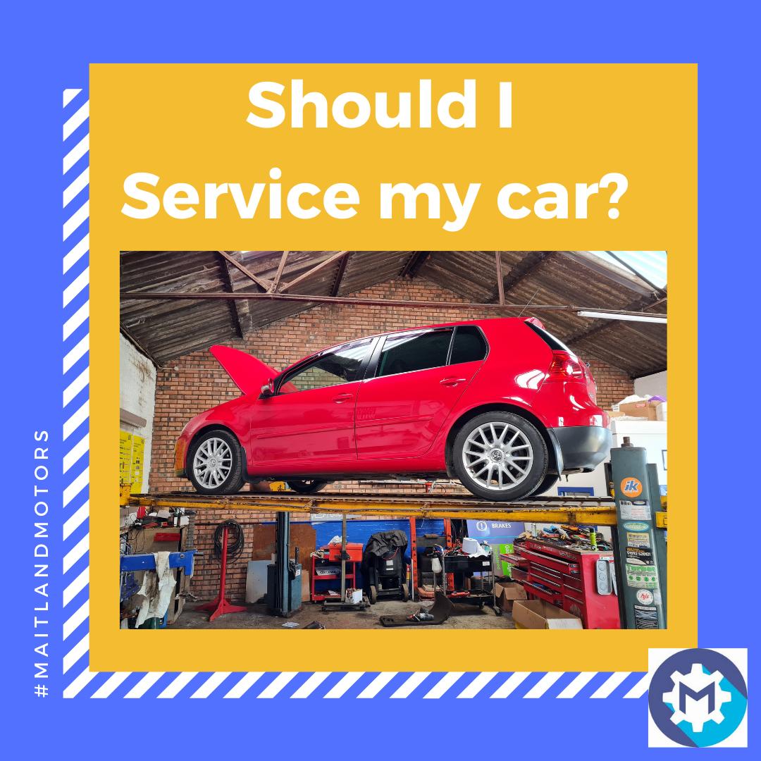 Should I service my car?